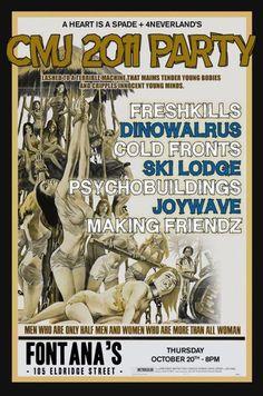 A Heart Is A Spade + 4Neverlands Present: Freshkills. Dinowalrus. Cold Fronts. Ski Lodge. Psychobuildings. Joywave. Making Friendz.