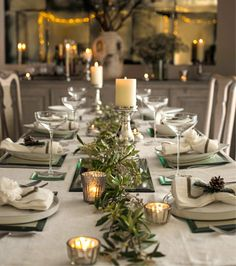 The White Company table setting