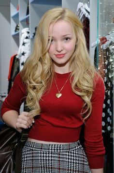 Dove cameron, why does she always wear that locket?