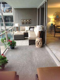 Exterior Patio Area Furniture for Great Houses – Outdoor Patio Decor Condo Balcony, Small Balcony Decor, Apartment Balcony Decorating, Condo Decorating, Balcony Design, Outdoor Balcony, Cottage Style Decor, Beach Cottage Style, Narrow Patio Ideas