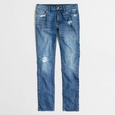 948d649f997 J.Crew Factory Driggs rip   repair jean ( 62) ❤ liked on Polyvore