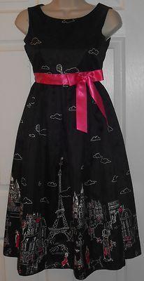 Fuchsia Sequined Black Dress SZ 14   Formal Dresses   Pinterest ...