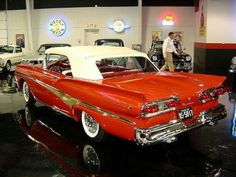 1958 Ford Fairlaine 500 Convertible