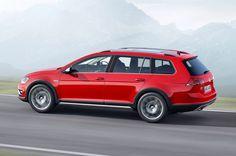 New Price Release 2016 VW Golf Sportwagen Alltrack Review Side View Model