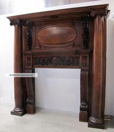 This would look absolutely perfect in my dream home. Victorian Fireplace Mantels, Fireplace Mantle, Mantles, My Dream Home, Entryway Tables, House, Fireplaces, Mirrors, Furniture