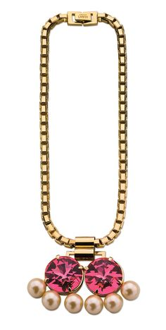Mawi ... Interesting idea for mangalsutra pendant ... Would change the chain thickness and the large pearls