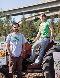 Mark Medeiros and Amie Frisch of Veggielution make farming a community matter.