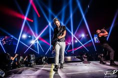 The AMAZING Lighting done by Daniel Smallbone and Lumina Designs oh yeah in the photo is Skillet's Seth Morrison!