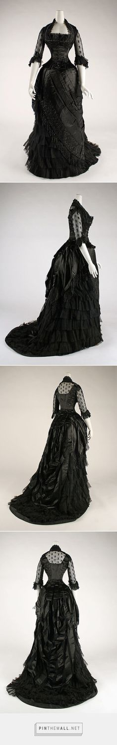 Evening dress 1881-84 American or European | The Metropolitan Museum of Art