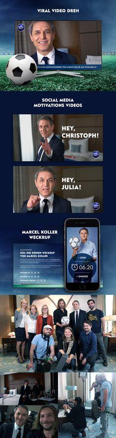 Neue Viral Video Kampagne mit Marcel Koller wegen EM 2016 in Frankreich. Interaktives Video motiviert der berühmte Fussballtrainer. Marcel, Viral Videos, Psychics, France
