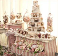 Femme candy buffet