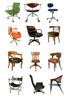 Desk Chairs From 1st Dibs