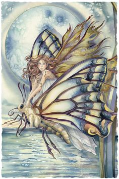 Look what I found on pinterest!;) All time best selling Bergsma fantasy  print! Bergsma Gallery Press::Paintings::Fantasy::Faeries::Chrysalis... Who Knows What Magic Tomorrow May Bring - Prints