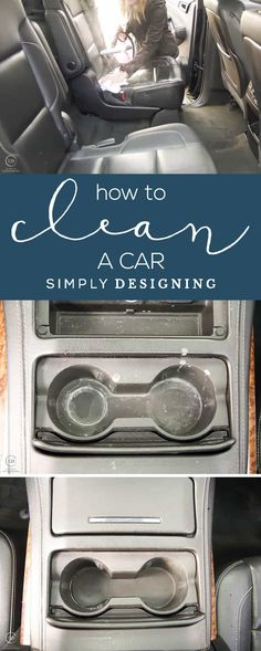 How to Clean a Car - the best and easiest way to clean and sanitize a car