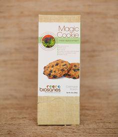 The Magic Cookie ™ Natural Oatmeal Raisin – 14 Count