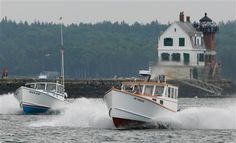 Lobster boat races - Rockland, Maine