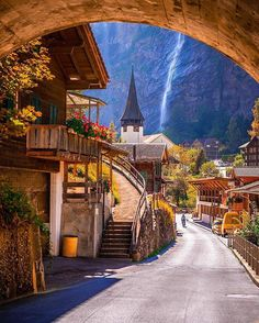 #lauterbrunnen , #switzerland  Photo by @christofs70 ------------------------------------------------- ❤ #travelgram #love #vacation #colors #holiday #trip #naturelovers #travelphotography #waterfall #cozy #home #beautiful #road #nice #place #sunny #day #instagramers #eurotrip ❤