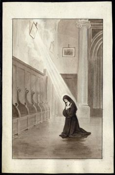 In the Archives of the Carmel of Lisieux - the official website of the Little Flower Catholic Art, Catholic Saints, Roman Catholic, Religious Art, Sainte Therese De Lisieux, Ste Therese, Receiving The Holy Spirit, Vintage Holy Cards, Jesus Christ Images