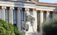 Philosophy too. A statue of Plato in Athens Greek Beauty, Beauty In Art, Ideal Beauty, My Athens, Athens Greece, Picture Finder, Creative Commons Pictures, Visit Turkey, Ancient Greece
