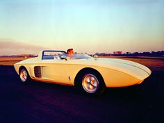 1962 Ford Mustang prototype.