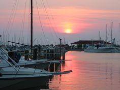 Port Aransas, TX from the patio at Virginia's...