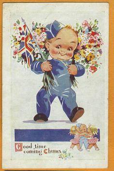 Agnes Richardson postcard via eBay
