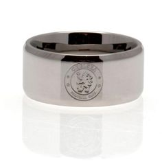Chelsea F.C. Band Ring Large #Sport #Football #Rugby #IceHockey