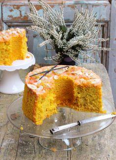 Angel Cake, Angel Food Cake, Torta Chiffon, Paris Brest, American Cake, Cake Cookies, Cornbread, Food Inspiration, Bakery