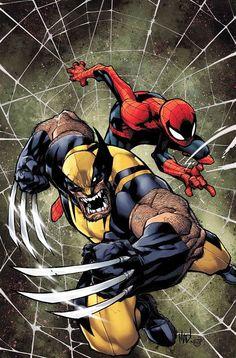 Wolverine & Spider-Man - Joe Madureira