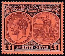 Postage stamp from Saint Kitts and Nevis Rare Stamps, Old Stamps, Nevis West Indies, Postage Stamp Art, Stamp Collecting, St Kitts And Nevis, Art Forms, Saints, Commonwealth