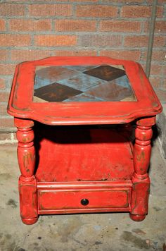 distressed furniture painted furniture and painted side tables