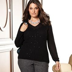 I love the body, not sure about the sleeves. Kohls 1x