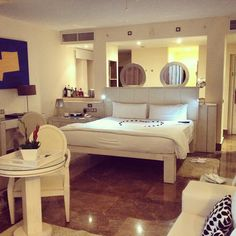 Rooms at The Beloved Hotel Playa Mujeres, Mexico. #BoutiqueHotel