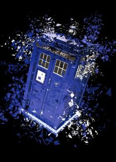steel canvas Movies & TV tardis doctor who gallifrey shattered bbc