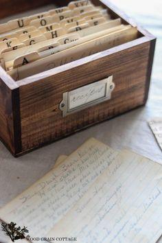 Как организовать хранение рецептов: 5 лучших способов