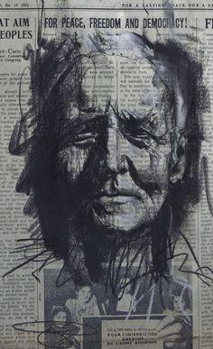 Artist : Guy Denning. #guydenning http://www.widewalls.ch/artist/guy-denning/: