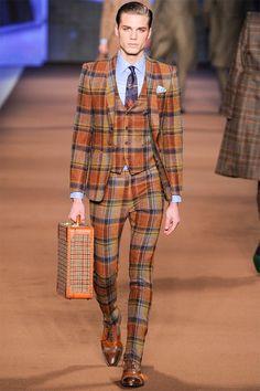 Etro Menswear Milan Fall/Winter 2014