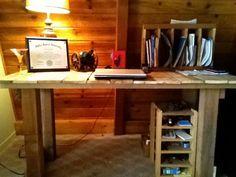 diy wood desk - Buscar con Google