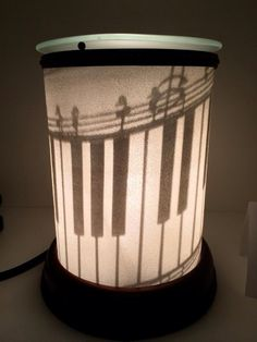 Piano Scentsy Shadow Warmer! BUY YOURS ONLINE: https://lisarucker.scentsy.us #scentsy #piano #music