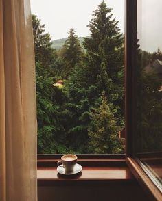 Cozy Aesthetic, Autumn Aesthetic, Nature Aesthetic, Window View, Aesthetic Wallpapers, Serenity, Beautiful Places, Scenery, Windows