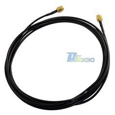 Alta Quality10ft 3 m SMA Macho a Macho M-M RF Coaxial Coleta RG174 Cable de Extensión Del Adaptador