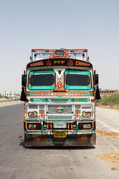 Indian Decorated Truck