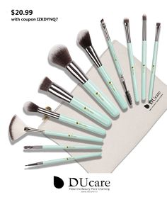 $20.99 --- WoW! I love these New comeing Macaroon Makeup Brush set! Get 30% off with coupon IZKDYNQ7 -- BUY IT NOW: http://www.amazon.com/dp/B01FM8J5OQ