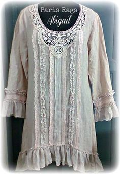 Pretty Outfits, Beautiful Outfits, Boho Fashion, Fashion Outfits, Fashion Design, Romantic Outfit, Romantic Clothing, Mein Style, Altered Couture