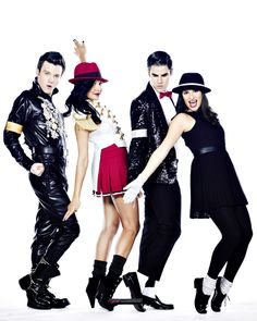Glee Michael Jackson Tribute Photoshoot