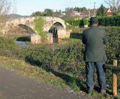 Puente Viellu,que une Villaperez con el Carbayu en Lugones Siero.Asturias
