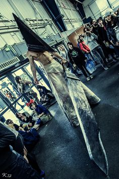Incredible Pyramid Head cosplay from Silent Hill. - 12 Pyramid Head Cosplays