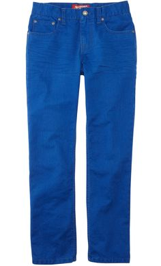 the cure for the blues -- vivid blue arizona jeans
