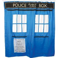 ★ NEW : Rideau de Douche Tardis Dr Who ►►► http://ow.ly/OtqKr Malgré son apparence, vous ne pourrez pas voyager dans le temps avec ce Tardis...