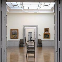 Art Museum / Musée des Beau Arts / Kunstmuseum     @ La Chaux-de-Fonds Grand Hotel, Place, Oversized Mirror, Furniture, Home Decor, Whitewash, Fine Arts Museum, Museum Of Art, Decoration Home